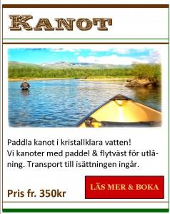 Hemsida aktiviteter Kanot
